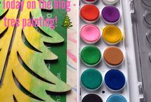 Creative Play / Explorations in painting and creativity