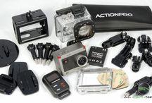 ActionCam X7 mit Zubehör