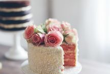 Cakes~Old Fashion & Simple / Simple cake decorating ideas.