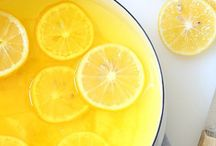 Lemon,ginger morning drink