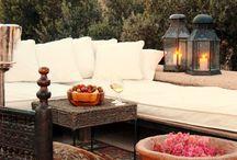 Morrocan outdoor living