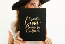 Downloadable & Print Inspirations