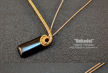 Wire weaving: pendant