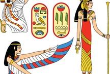 Thema: Egypte / Lesideeën voor het thema Egypte.