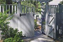 Gates fences trellis