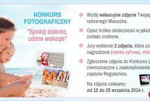 """KONKURS """"Spokój dziecka, udane wakacje"""" / Z przyjemnością ogłaszamy Laureatów Konkursu """"Spokój dziecka, udane wakacje""""  I miejsce: Tomasz Groberski II miejsce: Monika Bujała III miejsce Bernadetta Kasprzak  Wszystkim dziękujemy za udział w Konkursie i gratulujemy wygranych!  http://spokojdziecka.pl/udanewakacje.html"""