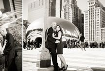 Top Chicago Engagement Sessions: Millennium Park