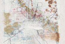 artworks Sjoukje / Mixed media's, drawings, oil on panel.
