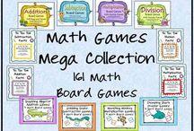 Math Games/Stations / by Tara Repp