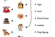 Korean Themed Activities for Kids