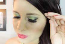 Maquillaje tonos verdes