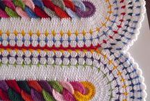 Colchas em Crochê / Quilts Crochet: Coloured, Flowers, White, Amended ...