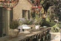Home Inspiration | Outdoors / House proud. Inspiration for an amazing country rustic, french and tuscan country with a slight hamptons feel.... if that's possible.