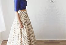 SIMPLE LEHENGA