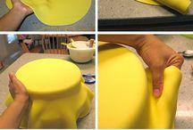 pasta de açúcar bolos