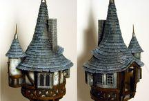 Minecraft model house