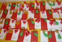 CHRISTMAS GIFTS FROM KINDERGARTENERS / Christmas gifts that kindergarteners can make in class to give to their family! Ideas for teachers...