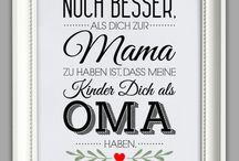 Sprüche für die Oma