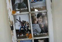 frame photo by door