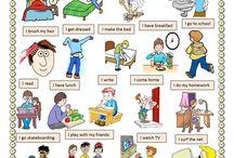 English - İngilizce / Grammer and words - Dilbilgisi ve Kelimeler
