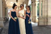 Bridesmaids / Silk dresses
