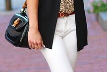 Leopard print top outfit