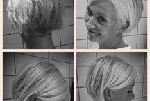 Hår / Frisure, farvning og klip