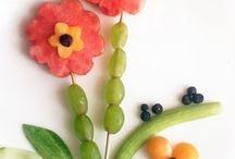 decoração frutas e legumes