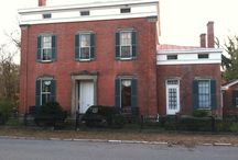 Shrewsbury-Windle House / Restoration of the National Historic Landmark site, Shrewsbury-Windle House in Madison, IN. Restoration began Sept. 2013.  Interior restoration now happening. Stop by in late 2017 for the Nights Before Christmas Tours in Dec. 2017 to view the interior.