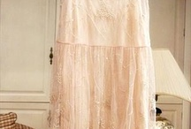 NEW CHAMPAGNE COLORED HAND-BEADED DRESS