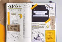 Bullet journal and Planner