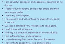 Affirmations that strengthen me! ❤️