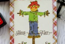 Joy Clair Harvest Blessing Projects / Projects created using Joy Clair's Harvest Blessing Clear Stamp set.