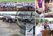 Community Outreach and Philanthropy / Hoffman Auto Group frequently gets involved in our community. See how we get involved, and how you can too!