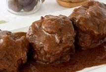 carnes en salsa