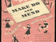 make do and mend  / recycle, upcycle, make do and mend, use up your stash of odds and ends of yarns, - lots of vintage patterns to help us do just that....