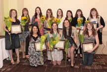 Recognition of Excellence  / Recognition of Excellence is Girl Scouts of Utah's annual awards ceremony recognizing girls who have achieved their bronze, silver and gold awards and adult volunteers who continue to help us build strong girls.  / by Girl Scouts of Utah