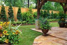 裏庭の造園