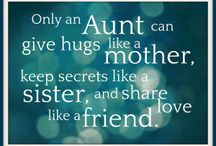 Aunt sayings..... / by Allison Whitmer