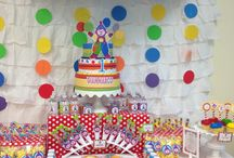 Kids Party Project / Party Supplies, Cake Bunting