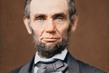 Abraham Lincoln / All Things Lincoln / by Mary Ann Richards Wing