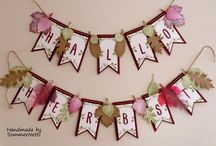 Stampin' UP! Layered Letters