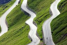 Best Motorbike Roads / Inspirations for motorbike journeys.