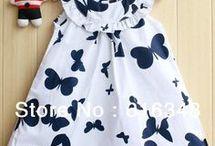 vestido criança
