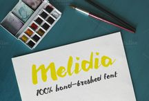 Wedding Typography and Stuff / Wedding invitations, wedding typefaces and artworks. #perfectwedding