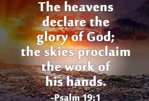 """The heavens declare the glory of God"""