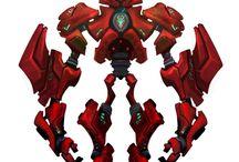 armour and robomechanica