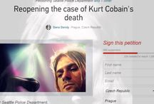 Justice for Kurt Cobain / https://www.change.org/p/the-official-petition-seattle-pd-reopen-kurt-cobain-s-case