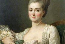 women's portraits 1760s