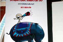 IAD 2006 Hyderabad / International Animation Day On 28th October 2006 Organized by Asifa India